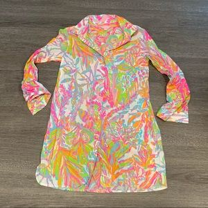 [Lilly Pulitzer] Button Down Tunic